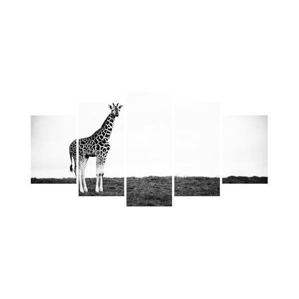 Viacdielny obraz Black&White no. 6, 100x50 cm