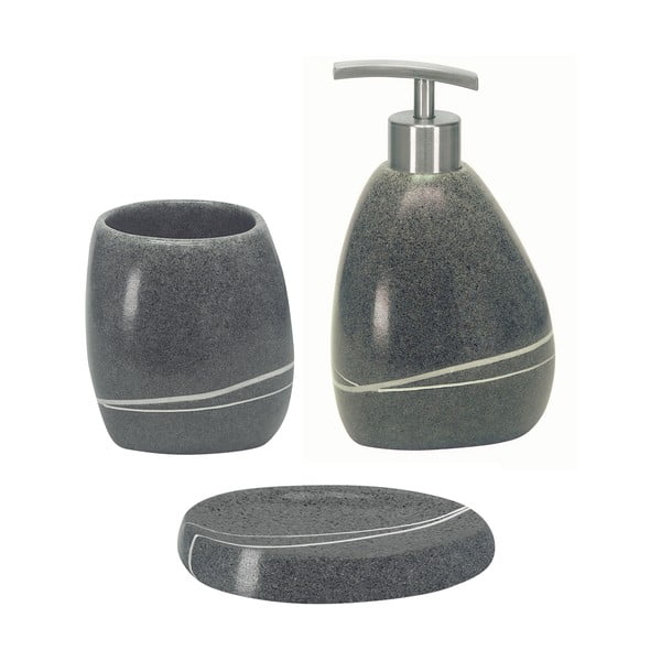 Kúpeľňový set Stones Grey