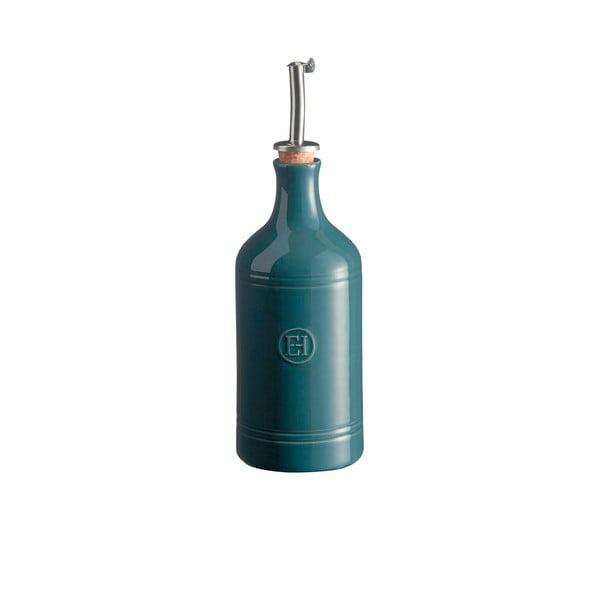Makovomodrá fľaša na olej Emile Henry, objem 400ml