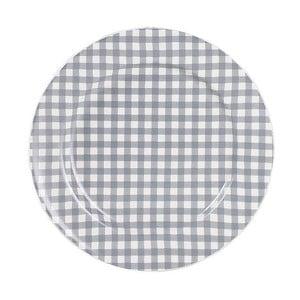 Keramický tanier Marikere Grey, 17 cm