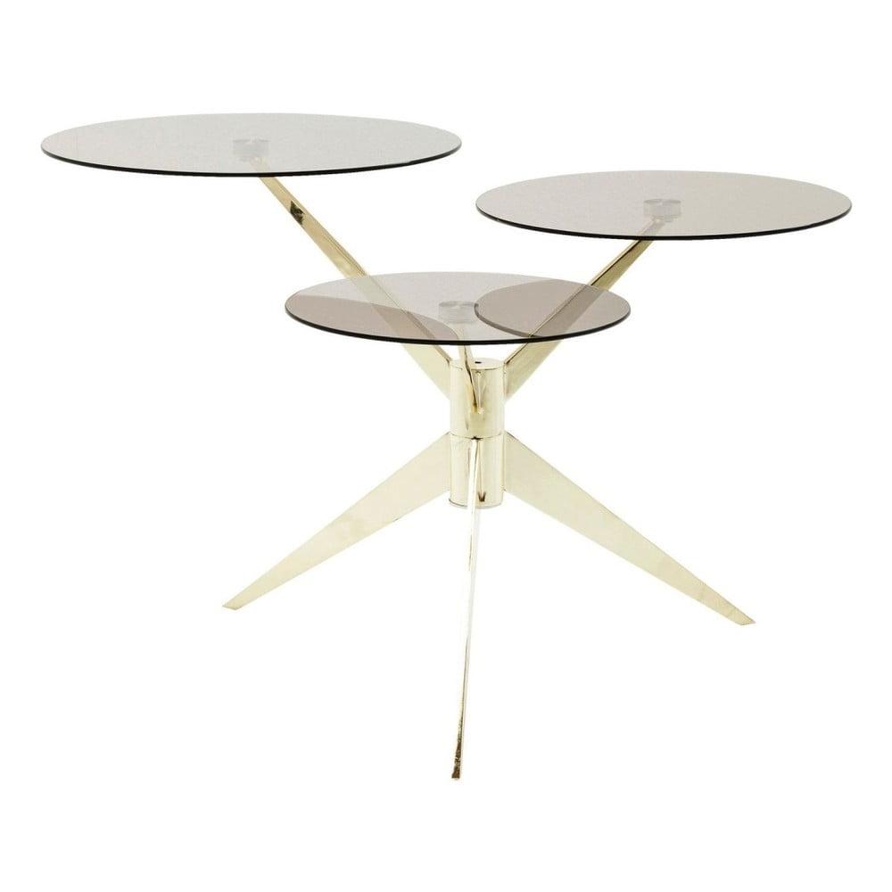 Odkladací stolík Kare Design Bonsai Tre Brass