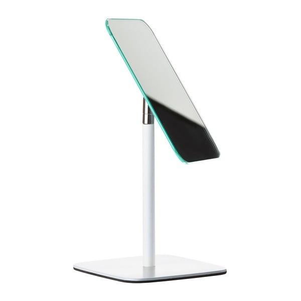 Biele stolové kozmetické zrkadlo Zone