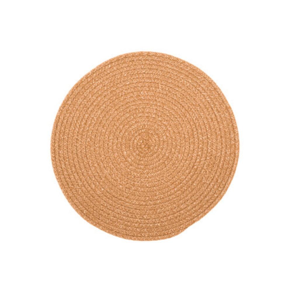 Prírodné prestieranie s prímesou bavlny Tiseco Home Studio, ø 38 cm