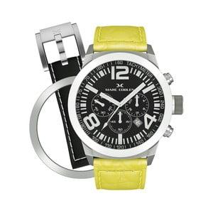 Unisex hodinky Marc Coblen s remienkom a ozdobou ciferníku naviac P8