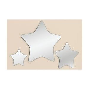 Sada 3 zrkadiel Trio Star