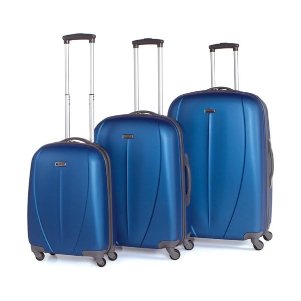 Set 3 cestovných kufrov Tempo Azul