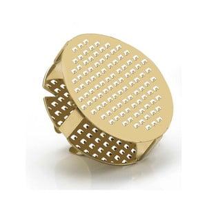 Strúhadlo vo forme prsteňa v zlatej farbe e-my Gratty