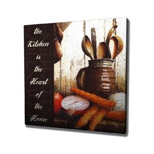 Nástenný obraz na plátne Kitchen, 45 × 45 cm
