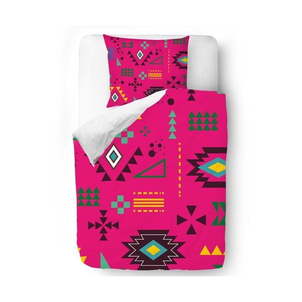 Obliečky Pink Native, 140x200 cm