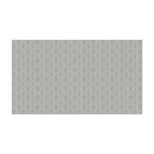 Vinylový koberec Ghazal Silver, 52x100 cm