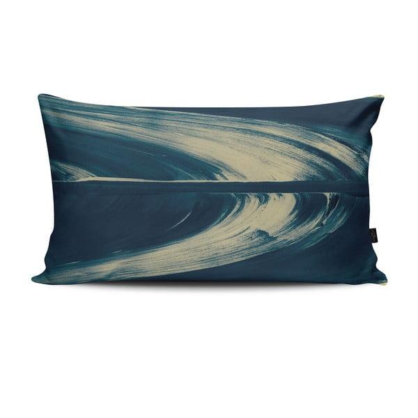 Vankúš Elidvide Blue Green, 47x28 cm