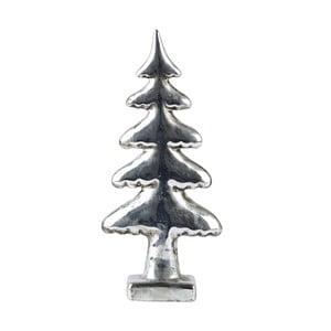 Dekoratívny stromček KJCollection Silver, 22 cm