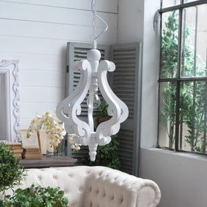 Luster Sandy White Antique