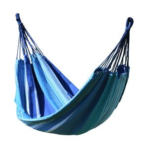 Modro-biela hojdacia sieť Cattara Textil