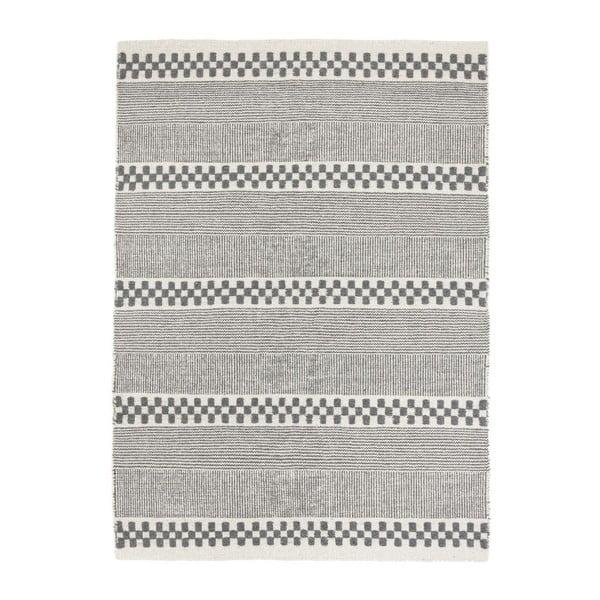Vlnený koberec Selma Grey, 160x230 cm