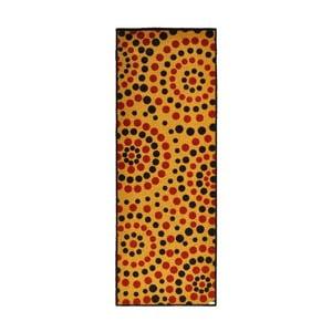 Rohožka Dots Natural, 67x180 cm