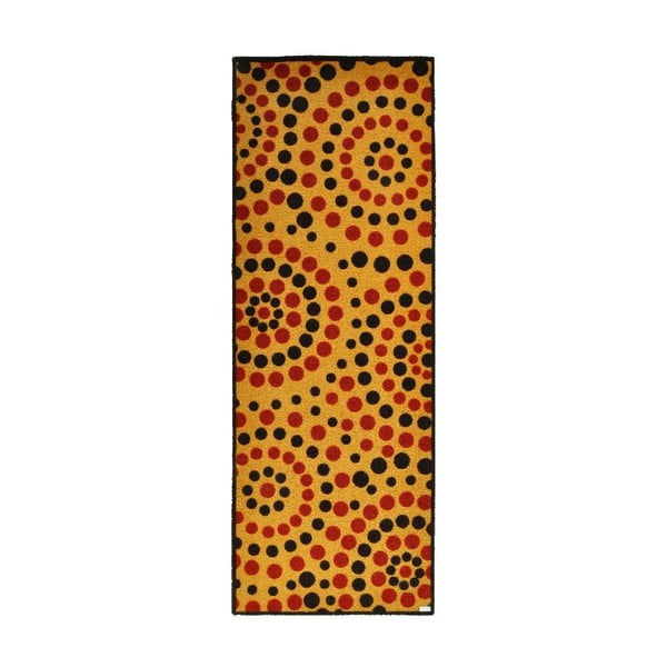 Rohožka Zala Living Dots Natural, 67 x 180 cm