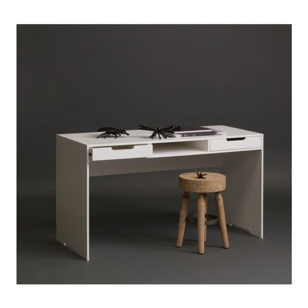 Pracovný stôl z dubového dreva WOOOD Elon