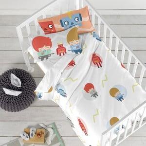 Detské obliečky z čistej bavlny Happynois Beep, 115×145 cm