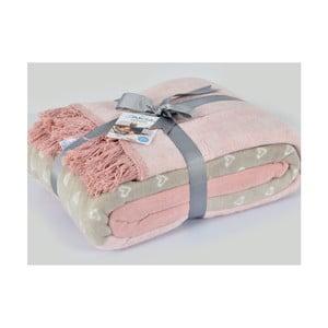 Bavlnená deka Aksu Catherine, 200×150 cm