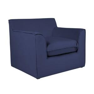 Modré kreslo BSL Concept Mona