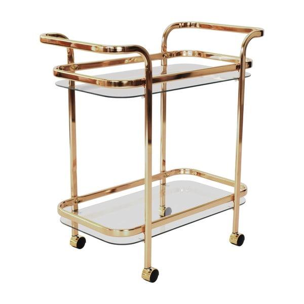 Sklenený servírovací stolík RGE Frans