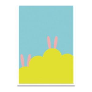 Plagát Hidden Rabbit, A4