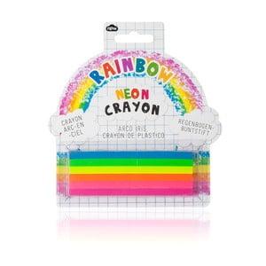 Sada 6 kried NPW Neon Rainbow Crayon