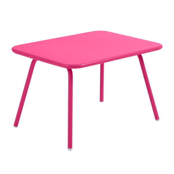 Ružový detský stôl Fermob Luxembourg