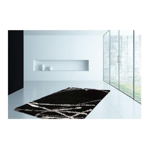 Koberec Peppy 99 Black, 80x150 cm