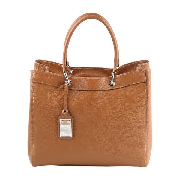 Kožená kabelka Andrea Cardone 939 Brown