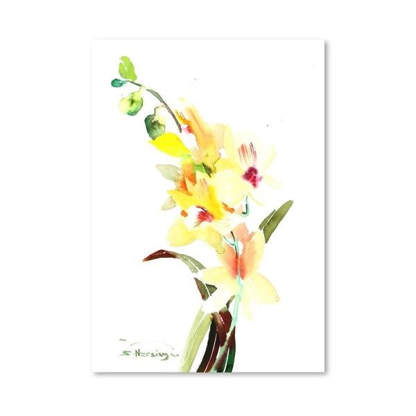 Plagát Orchids Light
