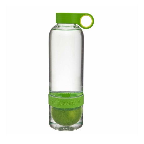 Citruszinger, fľaša na vodu a citrusy, zelená