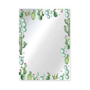 Nástenné zrkadlo Surdic Espejo Decorado Cactus Garden, 50×70 cm