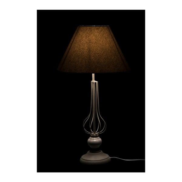 Stolná lampa Ball Grey, 25x25x56 cm