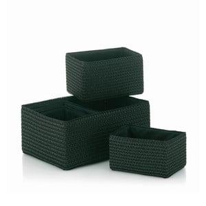 Sada 5 ks košíkov Rimossa, čierna