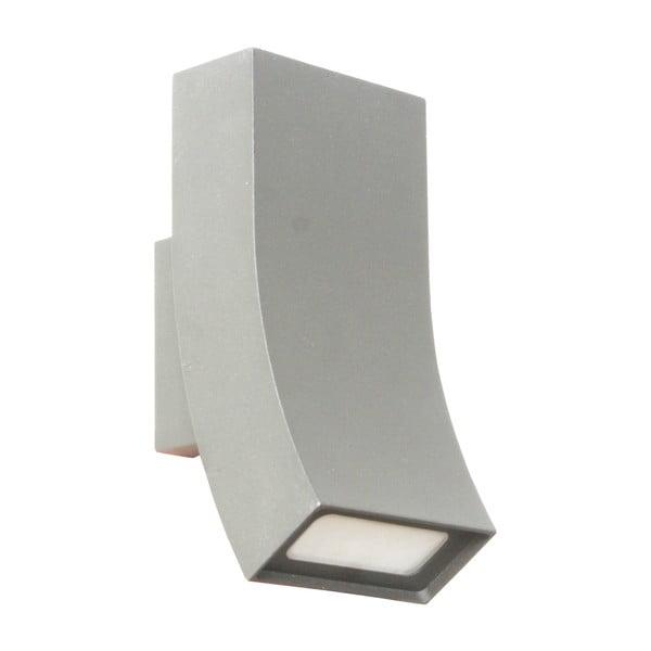 Záhradné nástenné svetlo Oka Titanium, 17 cm