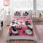 Obliečky s plachtou Minnie & Mickey 200x220 cm