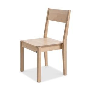 Ručne vyrobená stolička zmasívneho brezového dreva Kiteen Joki