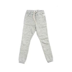 Sivé tepláky z čistej bavlny Lull Loungewear Explore Origins, veľ. XL