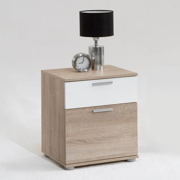 Nočný stolík v dekore dubového dreva 13Casa Pepper