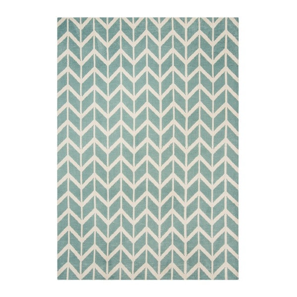 Koberec Asiatic Carpets Chevron Blue, 120x170 cm