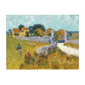 Obraz Vincenta van Gogha - Farmhouse in Provence, 40x30 cm