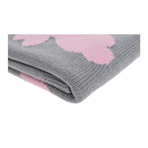 Detská deka Rabbit Pink, 80x100 cm