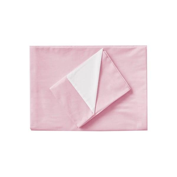 Ružové obliečky Hawke & Thorn Parker Simple, 240 x 220 cm + 2 x vankúš 50 x 60 cm