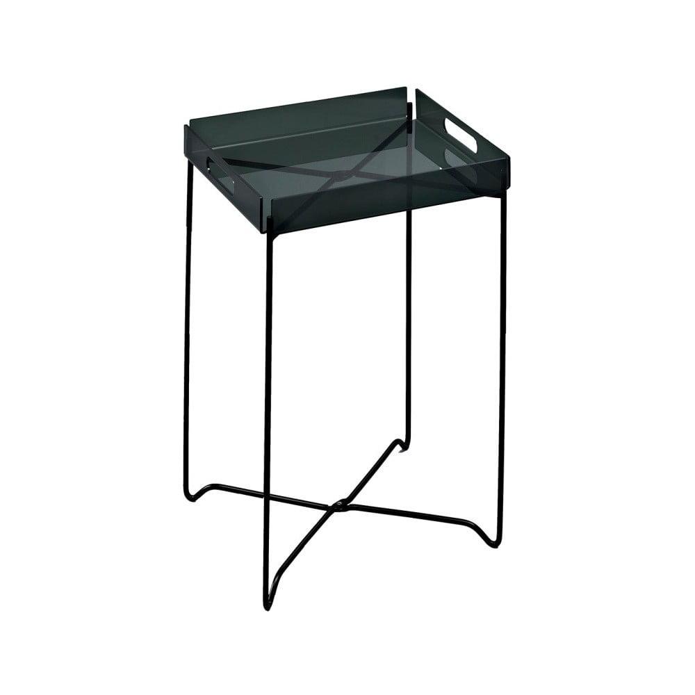 Čierny odkladací stolík Design Twist Nagpur