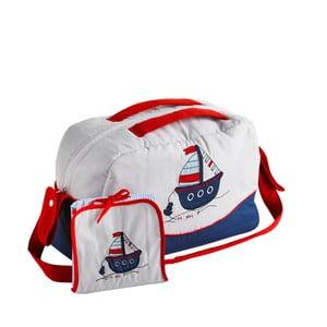 Set tašky cez rameno a prebalovacej podložky Naf Naf Little Boat