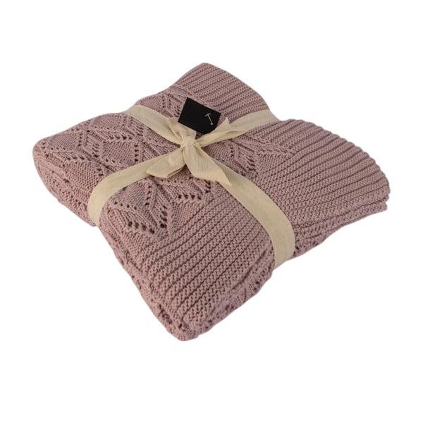 Béžová bavlnená deka Cotton