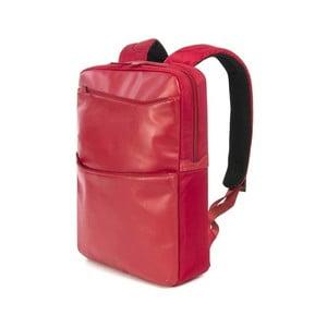 Červený dámsky batoh z talianskej kože Tucano Fina