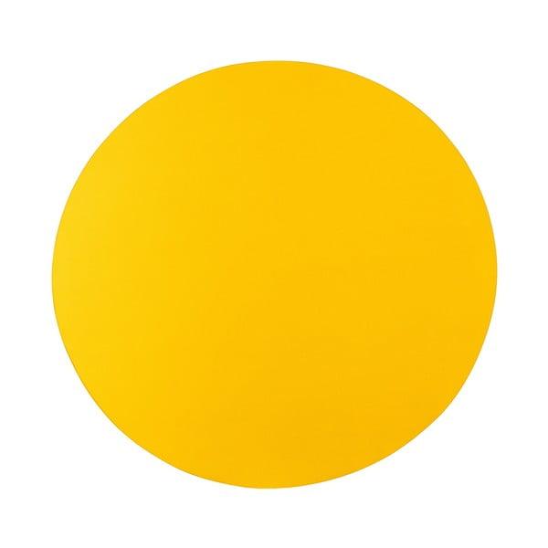 Stolík Zig-Zag, žltý